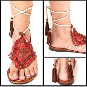 Free People Matisse Bronte wrap sandals NEW